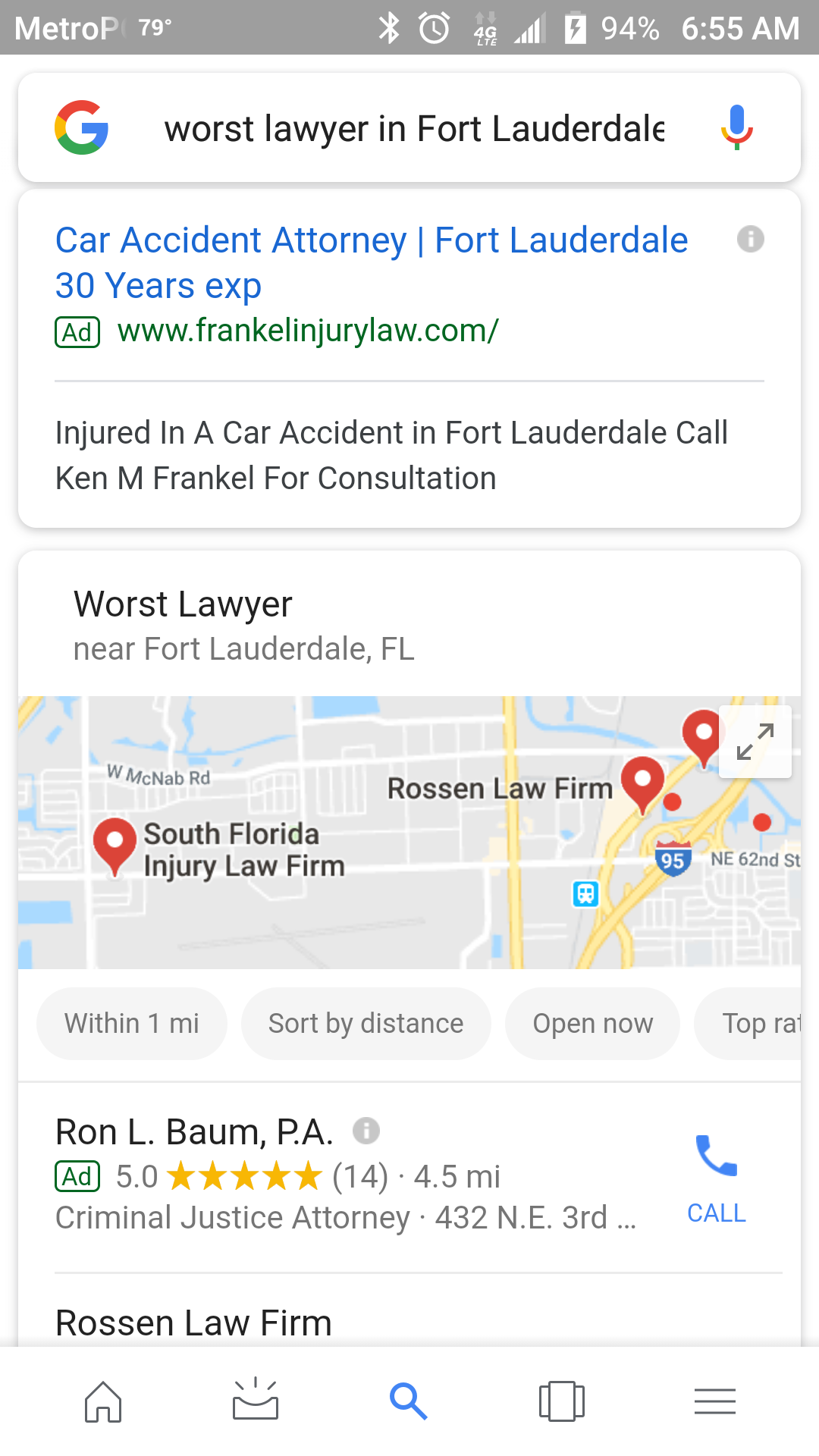 Worst Fort Lauderdale Lawyer