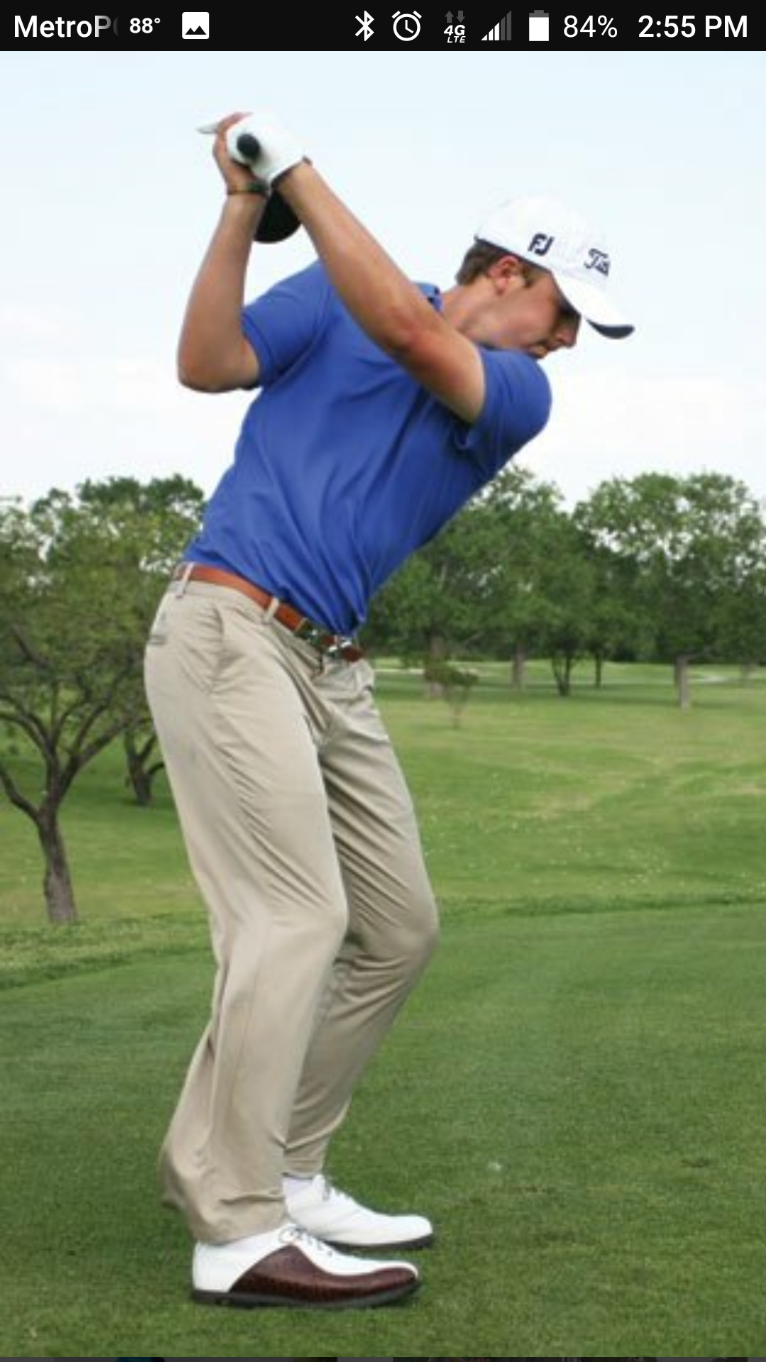 Jordan Spieth Golf Swing