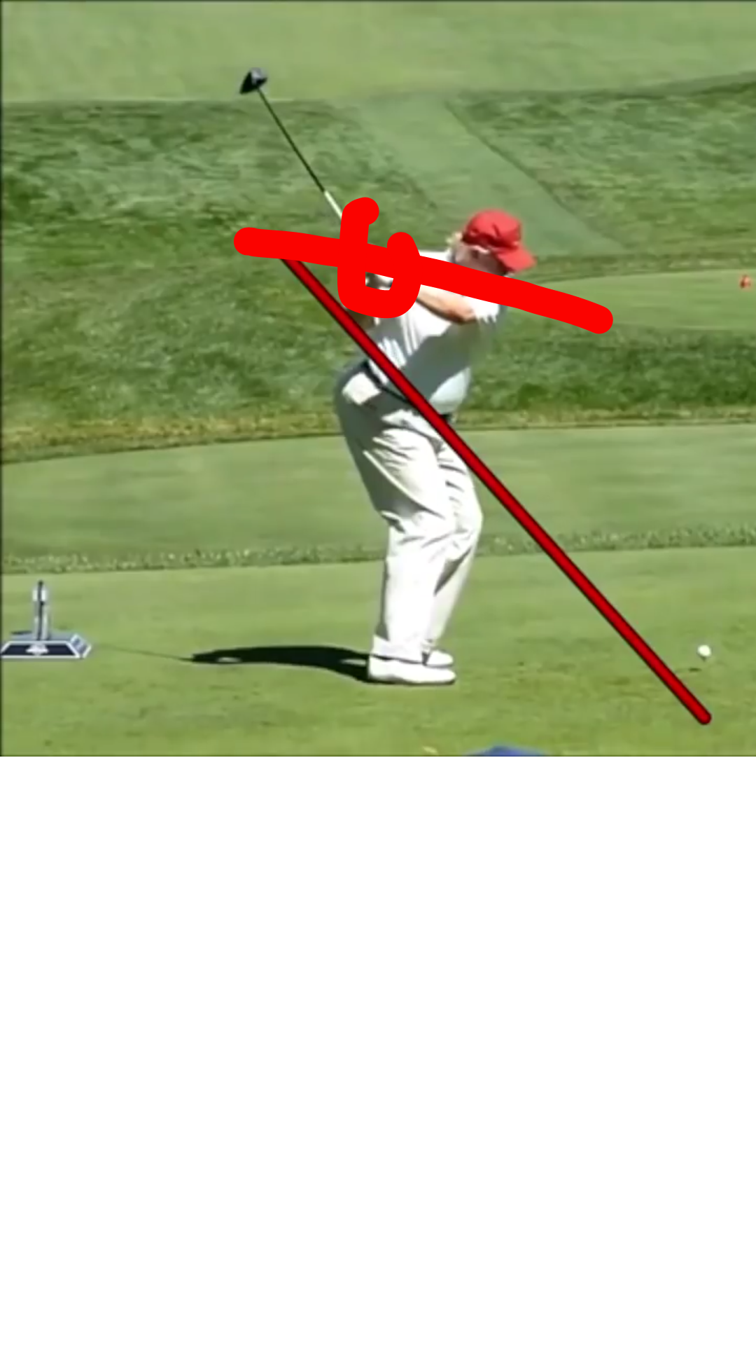 Donald Trump Golf Swing
