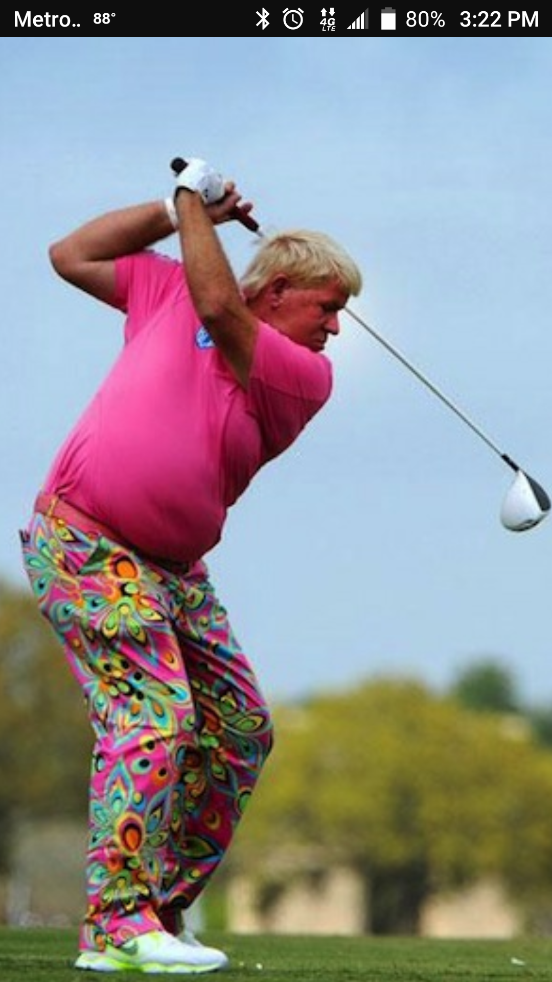 John Daly Golf Swing